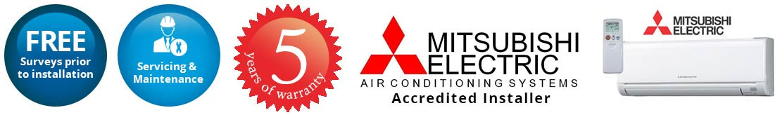 mitsubishi air conditioning worcester